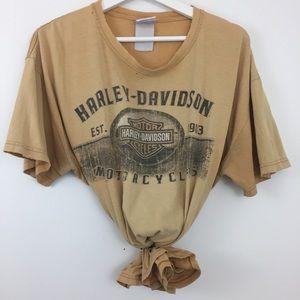 Vintage | Distressed Harley Davidson T-Shirt